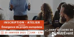 Illustration atelier émergence projets européens nutrition santé