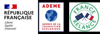 Logos pour AAP Entreprises Engagées pour la Transition Ecologique