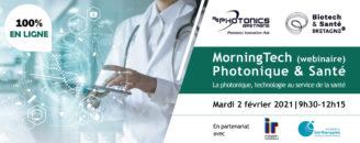 Visuel Morningtech photonique et santé