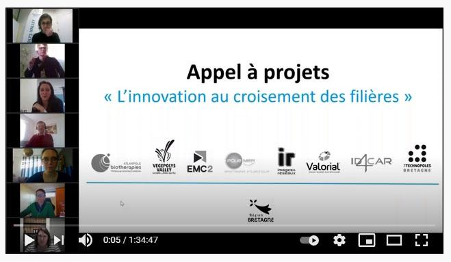 Copie écran_Webinaire appel à projet croisement de filières 2021