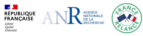 Logos République Française / Agence Régionale de la Recherche / France Relance