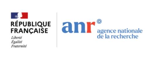 Logos République Française et l'ANR